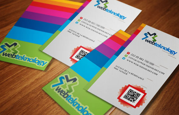 Nous Proposons Aussi Des Cartes De Visite Compatibles Avec Les Smarphones Grace Au Code QR Integre Vos Clients Peuvent Facilement Acceder Aux Informations